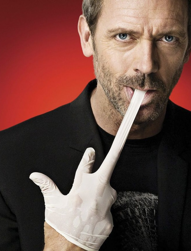 house - rubber glove